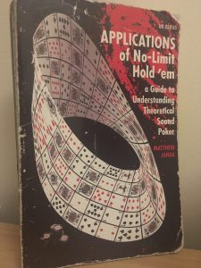 My Applications of No Limit Holdem Poker Book