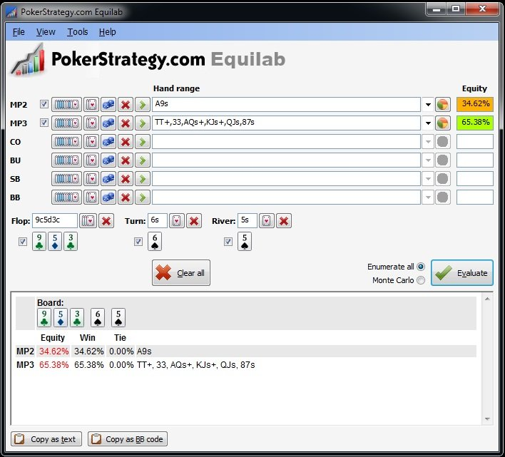 How to learn poker percentages cards