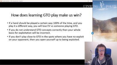 Kanu7 explaining the premise of GTO play