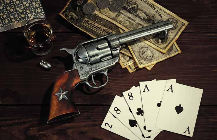 เล่นใต้ปืนในโป๊กเกอร์